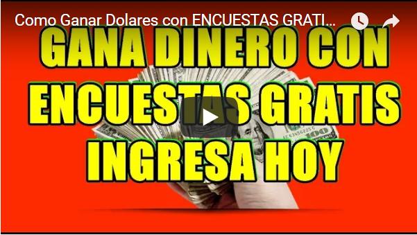 Gana Dinero con Encuestas Gratis!!